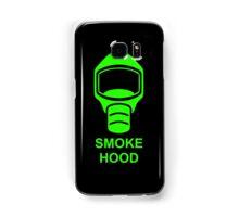 Emergency Escape Mask (or Smoke Hood, or Gas Mask) Sign Samsung Galaxy Case/Skin