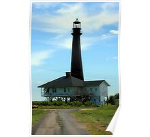 Point Bolivar Lighthouse Poster
