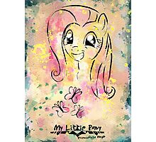 Poster: Fluttershy Photographic Print