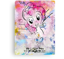 Poster: Pinkie Pie Canvas Print