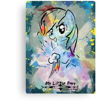 Poster: Rainbow Dash Canvas Print