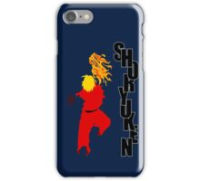 Vector Shoryuken  iPhone Case/Skin