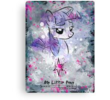 Poster: Twilight Sparkle Canvas Print