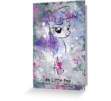 Poster: Twilight Sparkle Greeting Card