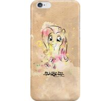 Poster: Fluttershy iPhone Case/Skin