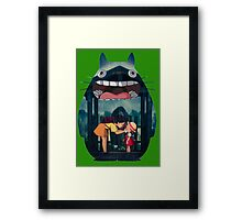 Totoro V2 Framed Print