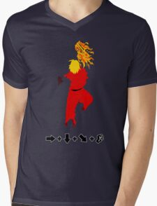 Vector Shoryuken 2  Mens V-Neck T-Shirt