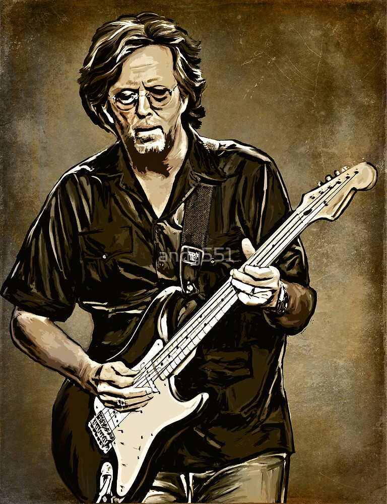 ERIC CLAPTON by andy551