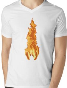 The Fire Rises Mens V-Neck T-Shirt