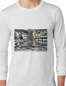 The jetty. Long Sleeve T-Shirt