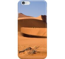 Sand sea of Namibia iPhone Case/Skin