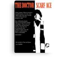 Scarf Ace Canvas Print