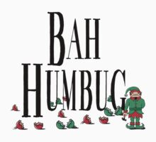 BAH HUMBUG Christmas T-Shirt One Piece - Long Sleeve