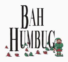 BAH HUMBUG Christmas T-Shirt Kids Clothes