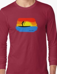 Sunset SUP Long Sleeve T-Shirt