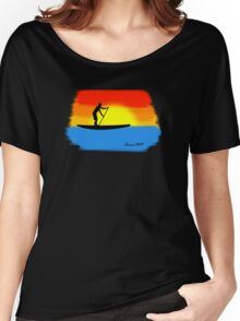Sunset SUP Women's Relaxed Fit T-Shirt