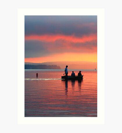 Sunrise 8-9-12 #1 Art Print