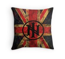 Distressed Union Jack (Prints) - Ill Nino UK Street Team Throw Pillow