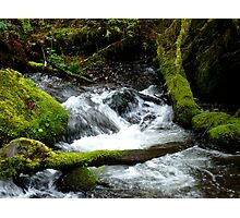Rushing Water Photographic Print