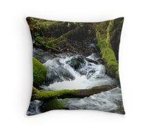 Rushing Water Throw Pillow