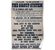Join under the group system 326 Poster