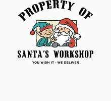 Property Santa's Workshop Christmas T-Shirt Long Sleeve T-Shirt