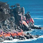 Red Rocks on Frecinet Peninsula by Yukondick