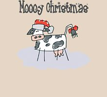 """Mooy Christmas"" Merry Christmas T-Shirts Womens Fitted T-Shirt"