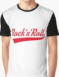 Rock 'n' Roll (Red) Graphic T-Shirt