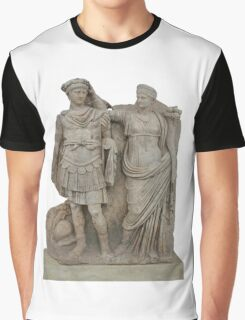 Nero and His Mother, Agrippina Graphic T-Shirt