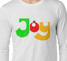 "Christmas T-Shirt ""JOY""  Long Sleeve T-Shirt"