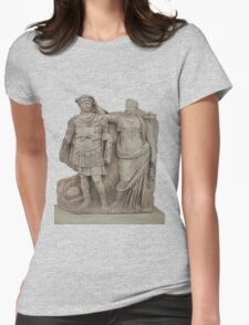Nero and His Mother, Agrippina Womens Fitted T-Shirt