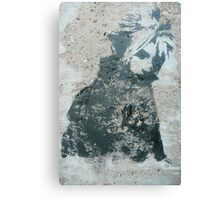 STENCIL: Cloud Strife - Final Fantasy VII Canvas Print
