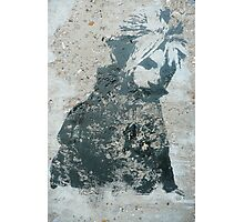 STENCIL: Cloud Strife - Final Fantasy VII Photographic Print
