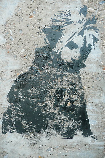 STENCIL: Cloud Strife - Final Fantasy VII by indiacording