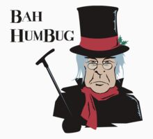 BAH HUMBUG Christmas T-Shirt  by HolidayT-Shirts