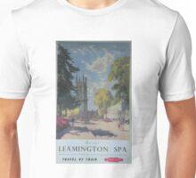 ROYAL LEAMINGTON SPA ~ TRAVEL BY TRAIN Unisex T-Shirt