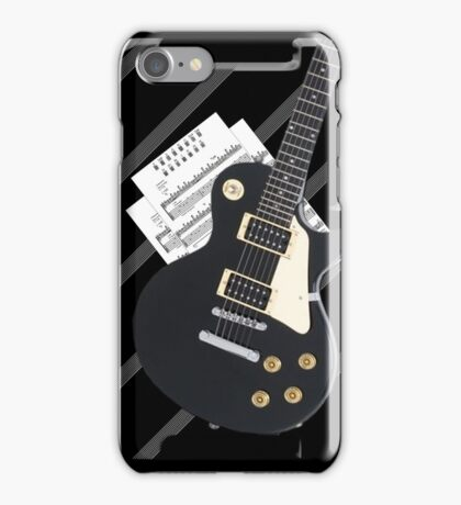 The Guitarist iPhone Case/Skin