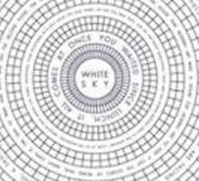 vampire weekend - white sky Sticker