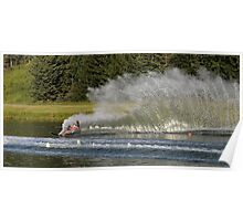 Water Skiing 1 Poster