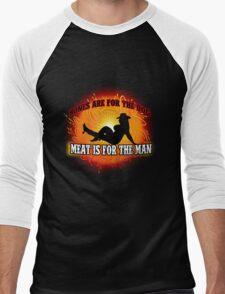 Thick girlz rule Men's Baseball ¾ T-Shirt