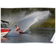 Water Skiing 2 Poster