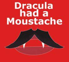 dracula had moustache Kids Clothes