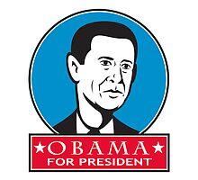 Obama For American President by patrimonio