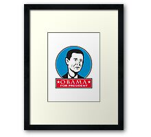 Obama For American President Framed Print