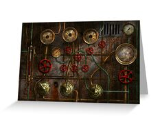 Steampunk - Job jitters Greeting Card