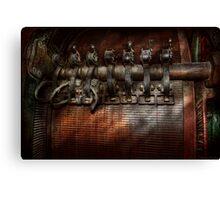 Steampunk - Motorized  Canvas Print