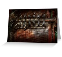 Steampunk - Motorized  Greeting Card