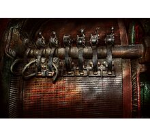 Steampunk - Motorized  Photographic Print