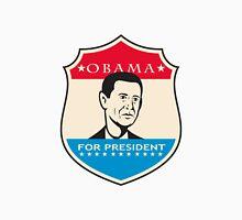 Obama For American President Shield Unisex T-Shirt